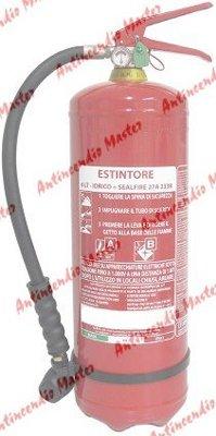 manutenzione e vendita estintori idrici 4Lt milano