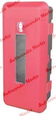 installazione cassetta portaestintori polietilene