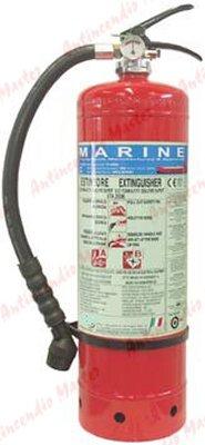 manutenzione estintori idrici med marina lux Lt 9