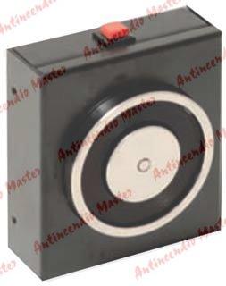 elettromagnete di trattenuta per porte tagliafuoco