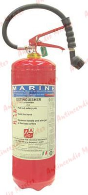 manutenzione estintori idrici med marina Lt 9 lifewater
