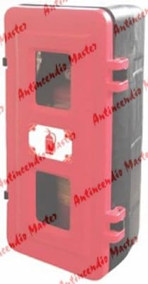 installazione cassetta portaestintori adr strong per camion