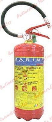 estintore polvere kg9 MED MARINA pressione permanente