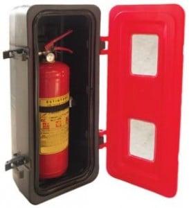 cassetta portaestintore ADR-STRONG per camion - antincendiomaster.it