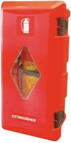 cassetta portaestintore ADR per camion - antincendiomaster.it