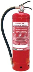 estintore polvere 6 Kg serbatoio maggiorato -www.antincendiomaster.it