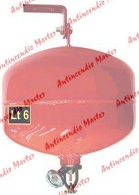 manutenzione estintori idrici automatici Lt 6